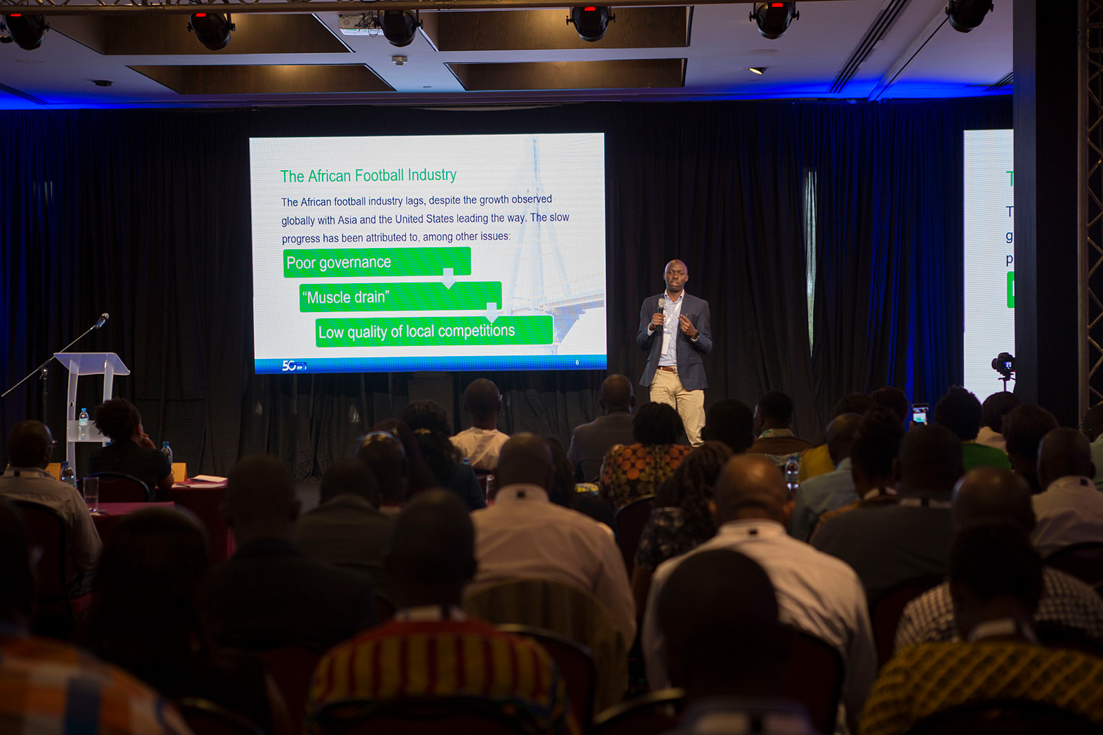 Project Management in Football - PMI Africa Conference 2019