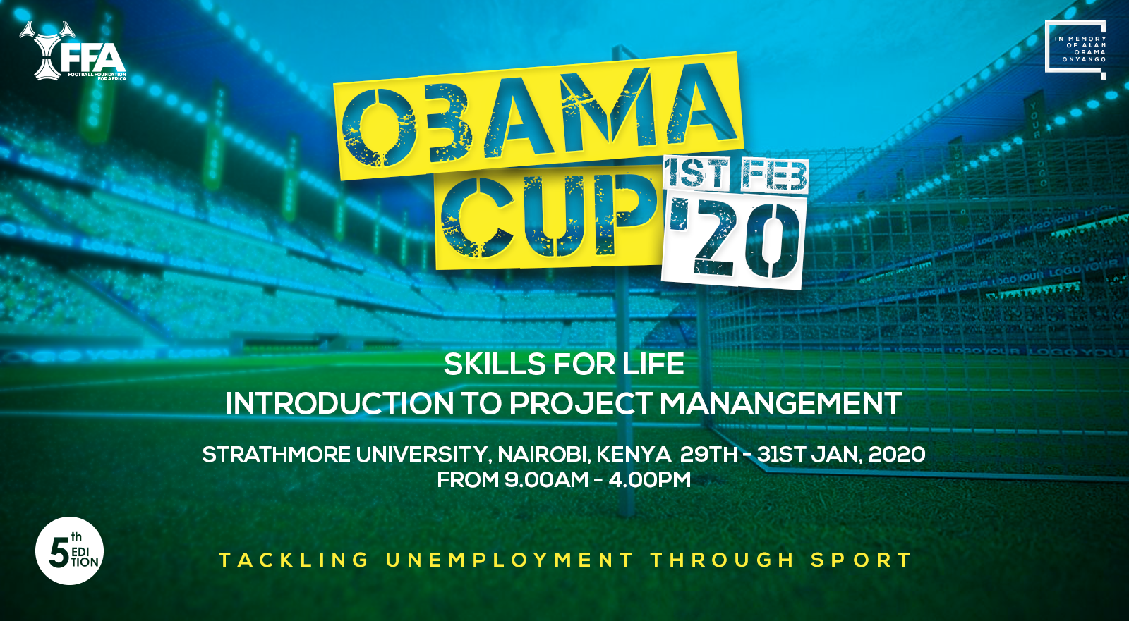Obama Cup 2020 Skills for Life Workshop