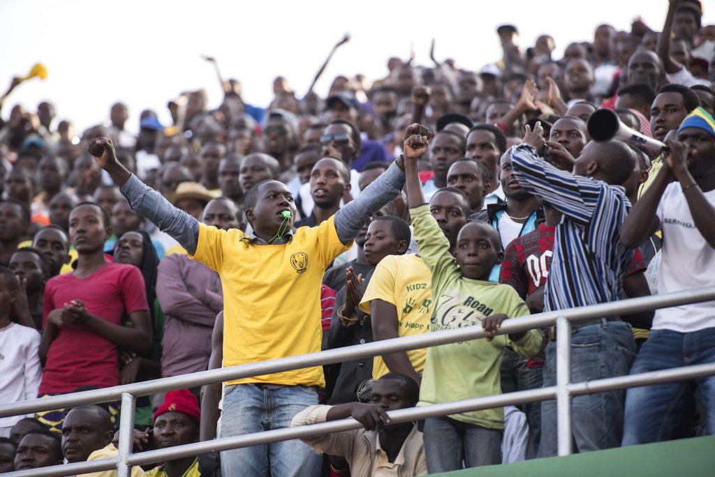 Rwanda football fans