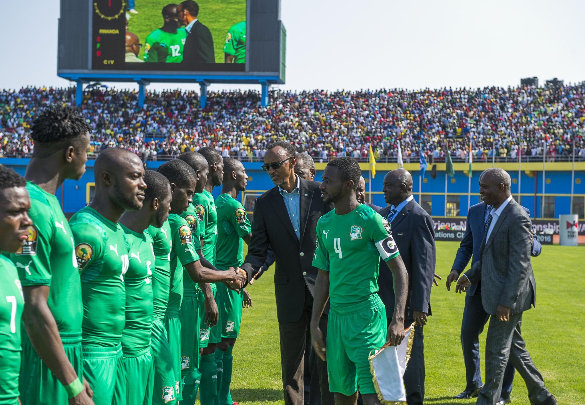 Paul Kagame at CHAN 2016