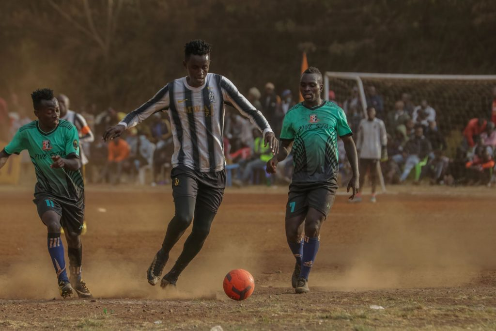 FKF Division 2 League Match at NCC Grounds